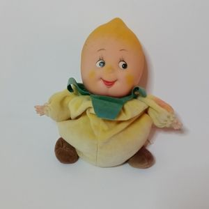 Small small world vintage lemon collectible doll